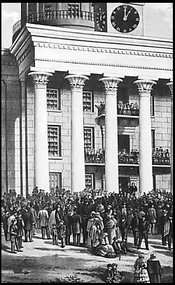 Jefferson Davis' inauguration
